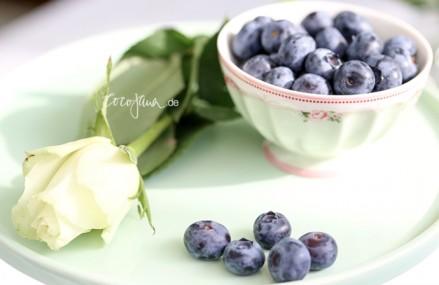Blaubeeren ist gutes Obst